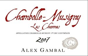 Alex Gambal Chambolle Musigny Les Charmes