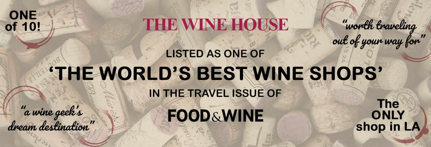 Listed as one of the World's Best Wine Shops in the travel issue of Food and Wine