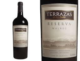 2015 Terrazas De Los Andes Reserva Malbec Mendoza 750ml