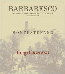 2013 Luigi Giordano Barbaresco Montestefano2
